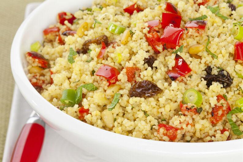 Receta de cuscús con pollo y verduras